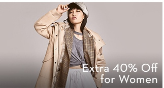 Extra 40% Off for Women