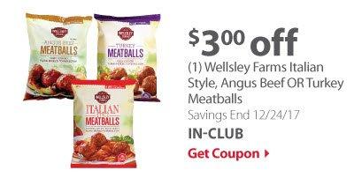 Wellsley Farms Meatballs