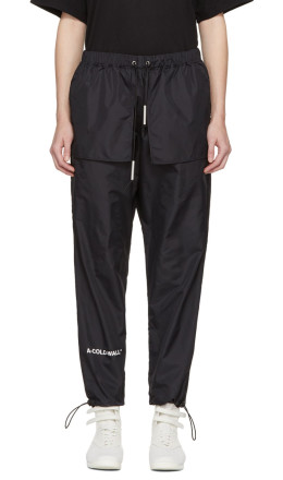 A-Cold-Wall* - SSENSE Exclusive Black Technical Nylon Track Pants