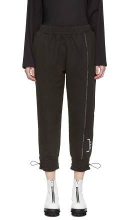 A-Cold-Wall* - SSENSE Exclusive Black Shrink Wrap Corded Utility Pants