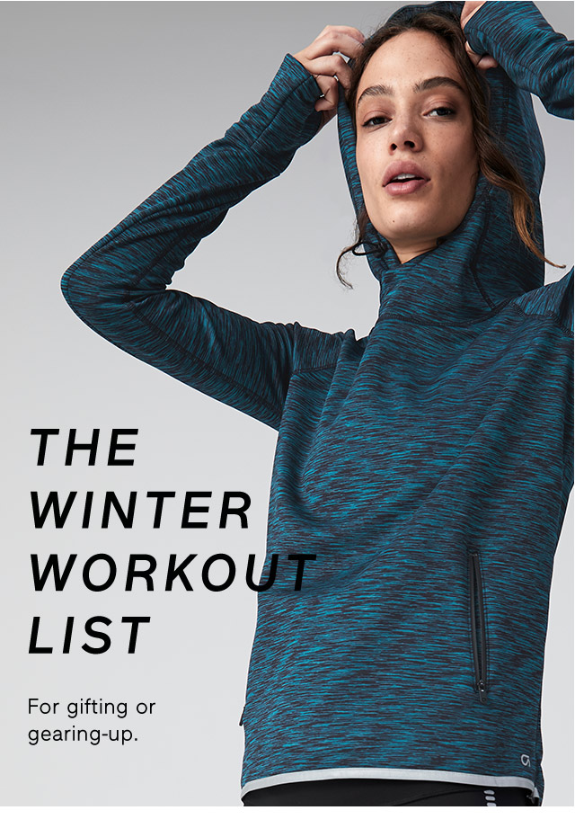 THE WINTER WORKOUT LIST
