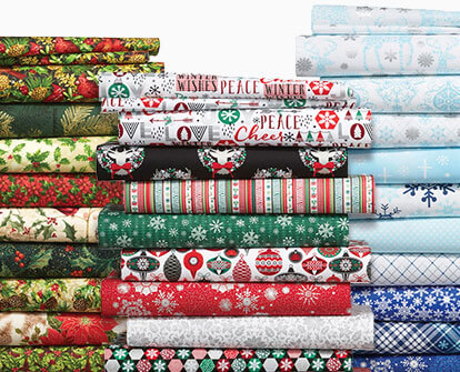 Entire Stock Christmas Cotton Fabrics.