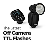 The Future is Here: 4 TTL Flashes with RF Wireless Operation