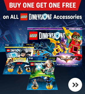 LEGO Dimensions Buy One Get One Free on Accessories!
