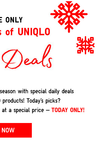 ONLINE ONLY: Daily Deals - Shop Now