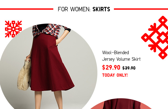 ONLINE ONLY: Daily Deals - Women's SKIRTS