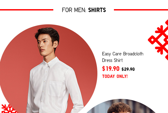 ONLINE ONLY: Daily Deals - Men's SHIRTS