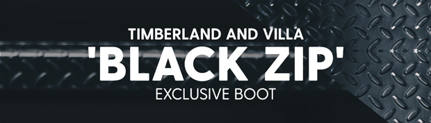 "Timberland and VILLA 'BLACK ZIP' Exclusive 6"" Boot"