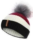 BKLYN Fur Bobble Hat