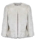 Ted Baker Faux Fur Jacket