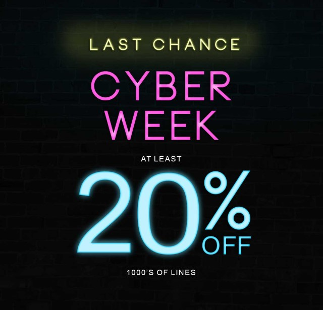 Cyber Week Ends Soon