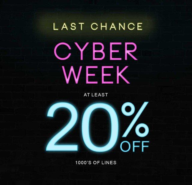 Cyber Week Ends Soon