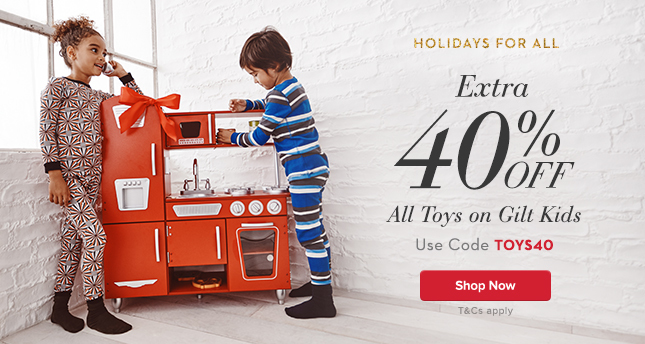 Extra 40% Off Toys. Use Code TOYS40.