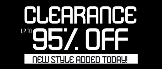 95% off Clearance! Shop Now
