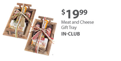 Meat and Cheese Gift Tray