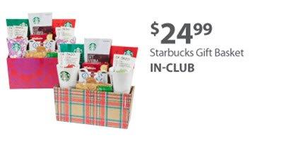 Starbucks Gift Basket