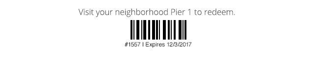 #1557 | Expires 12/3/17.