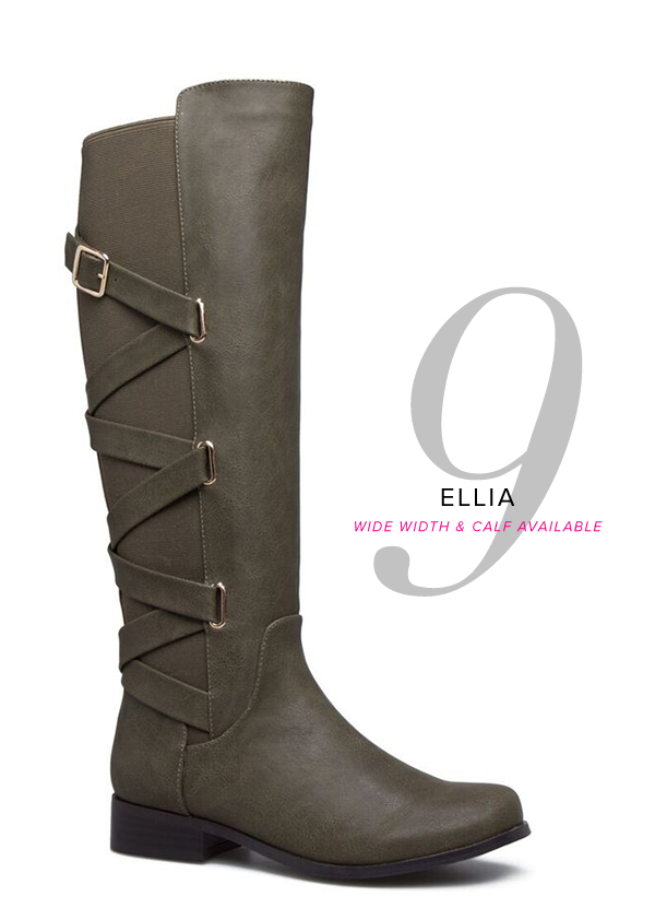 ELLIA WIDE WIDTH AND WIDE CALF AVAILABLE