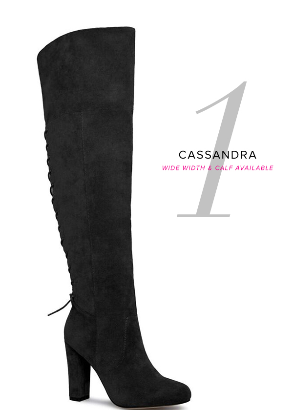 CASSANDRA WIDE WIDTH AND WIDE CALF AVAILABLE