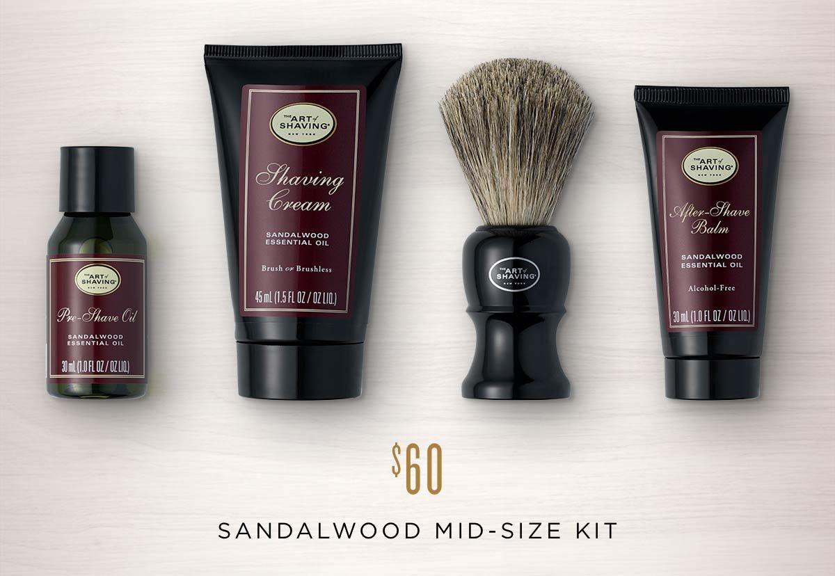 Sandalwood Mid-Size Kit