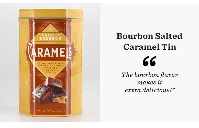 Bourbon Salted Caramel Tin