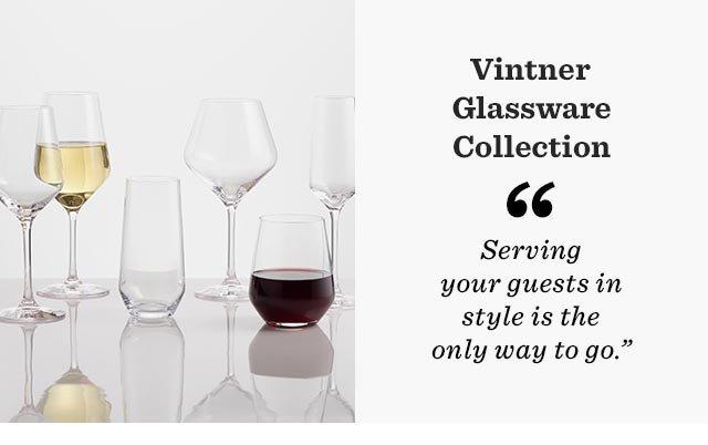 Vintner Glassware Collection