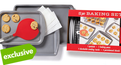 12 pc Bakeware Set.