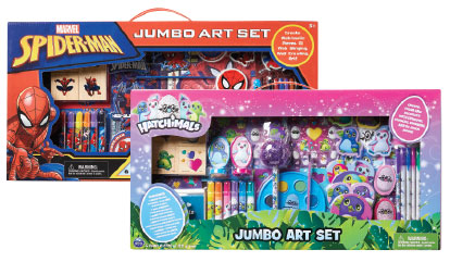 Licensed Jumbo Art Set.