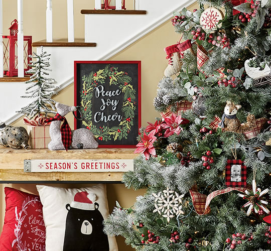 ENTIRE STOCK Holiday Trim-A-Tree, Floral, Containers and Ribbon.