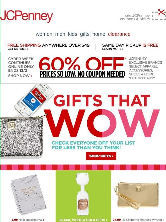 bb13be60aa26b JC Penney  GIFTS that WOW—Challenge accepted