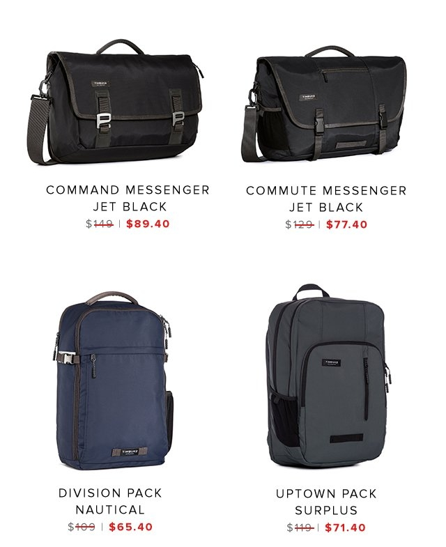Command Messenger | Commute Messenger | Division Pack | Uptown Surplus | Shop Sale