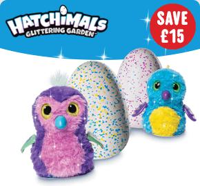 Hatchimals Glittering Garden Shimmering Draggles/ Pengualas
