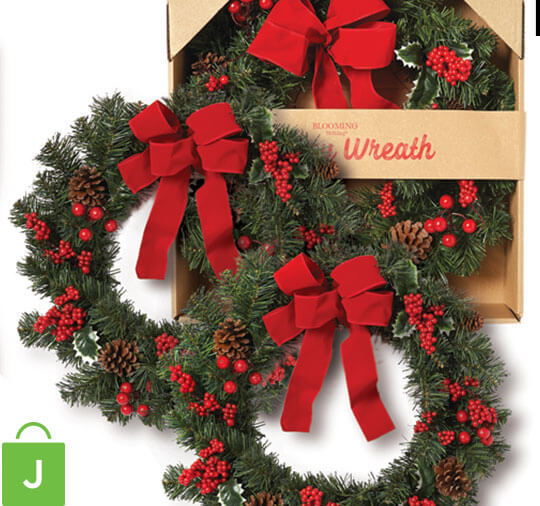 Holiday Wreaths.
