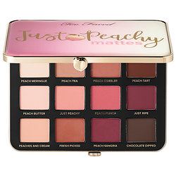 Too Faced - Just Peachy Velvet Matte Eyeshadow Palette  Peaches and Cream Collection