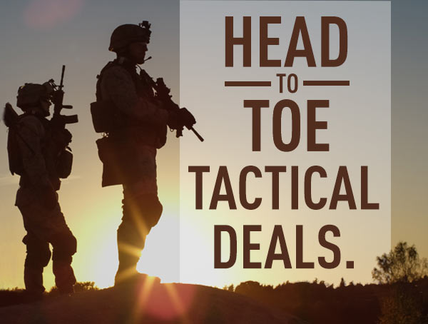 Head To Toe Tactical Deals