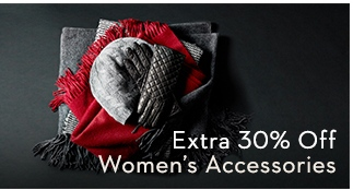 Extra 30% Off for Women's Accessories