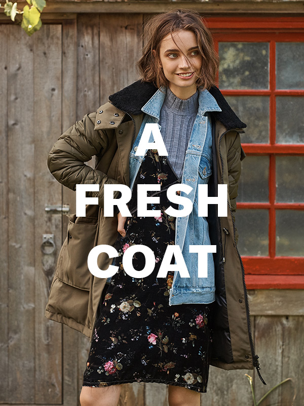 Extra-warm winter parkas, to turn chilly days into NBDs.