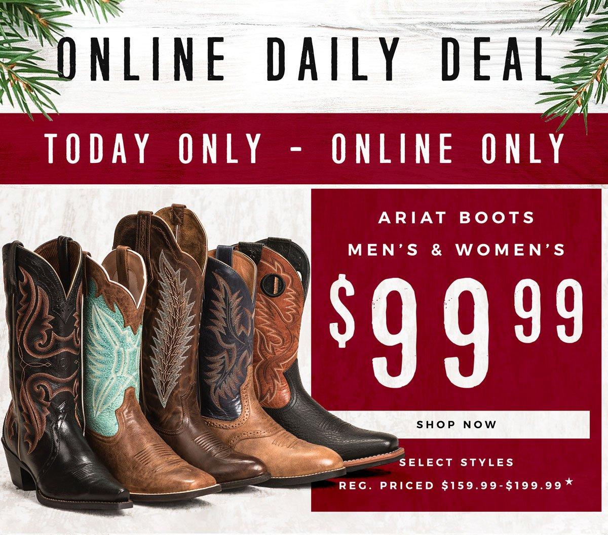 Ariat Boots Coupon