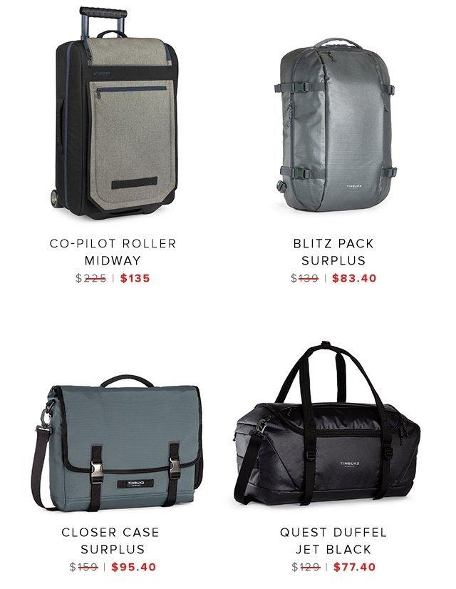 Co-pilot   Blitz Pack   Closer Case   Quest Duffel   Shop Sale