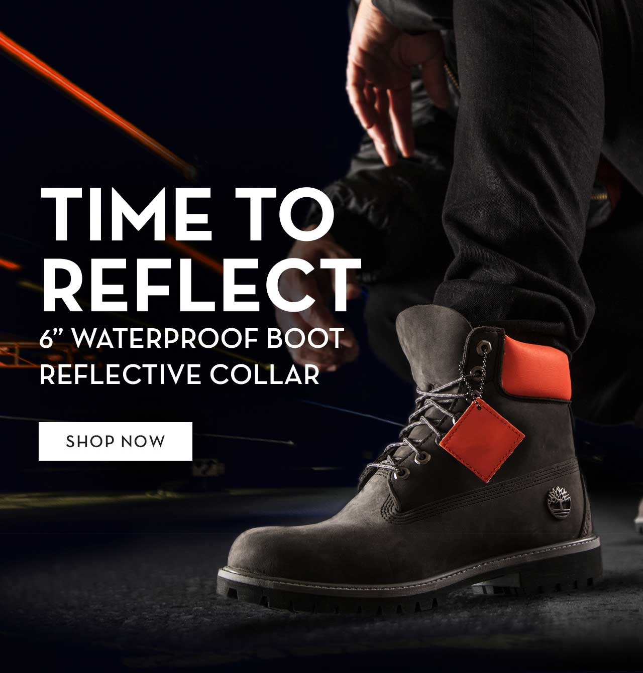 "Time To Reflect 6"" Waterproof Boot Reflective Collar Shop Now"