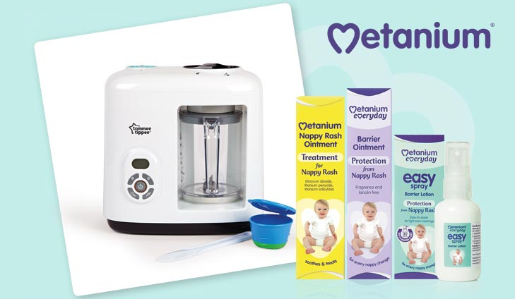 Yourbabyclub Win A Tommee Tippee Baby Food Steamer Blender