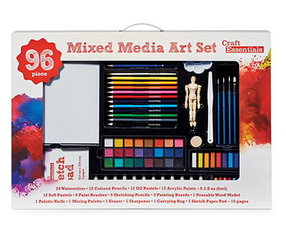 Craft Essentials Gel Pens, Paint and Fine Art Gift Sets.