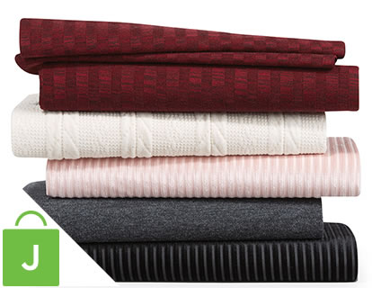 Solid Knits, Specialty Cotton and Linen and Linen-Look Apparel Fabrics.