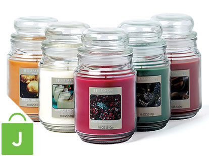 Holiday Scented Candles.