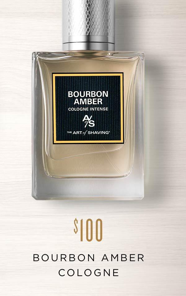 Bourbon Amber Cologne
