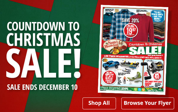 bass pro shops countdown to christmas sale milled - Bass Pro After Christmas Sale