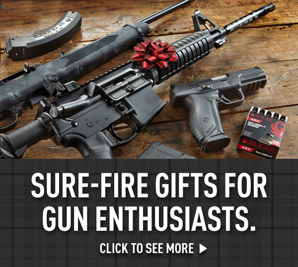 Sure-Fire Gifts For Gun Enthusiasts. Click For More.