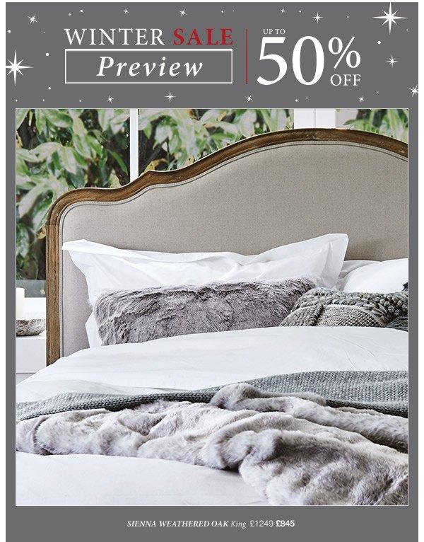 Winter Sale Preview