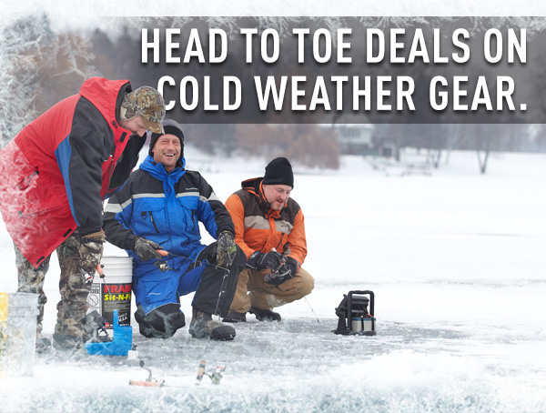 Head to Toe Deals on Cold Weather Gear!
