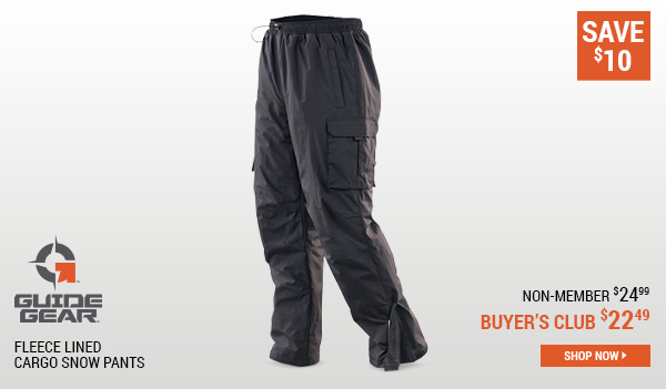 Guide Gear Men's Cargo Snow Pants